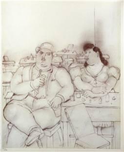 Fernando Botero (After) - Le Bar