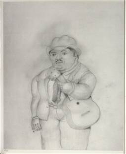 "Fernando Botero (After) - Untitled From ""Dessins et"