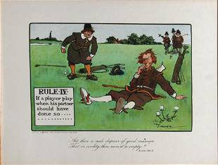 Chas Crombie - The Rules of Golf IV