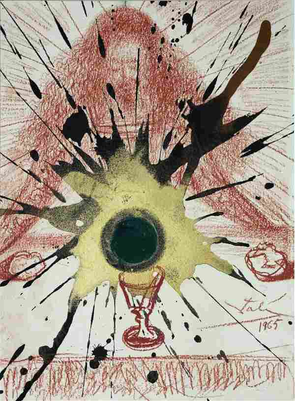 Salvador Dali - The Blood of the New Covenant