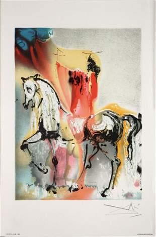 Salvador Dali - The Christian Knight