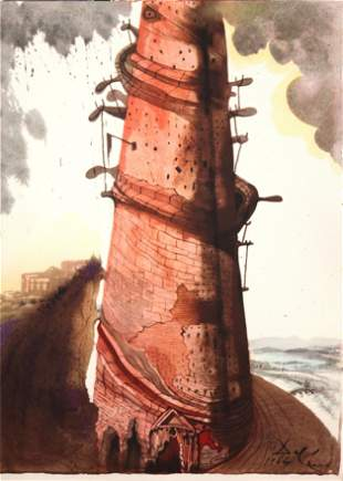 Salvador Dali - The Tower of Babel