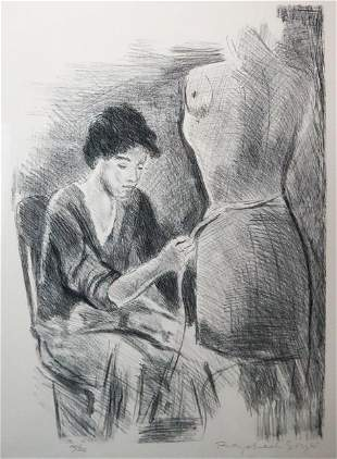 Raphael Soyer - La Extina