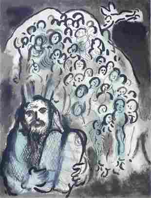 Marc Chagall - Moses