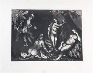 Paul Cezanne (after) - La tentation de Saint Antoine