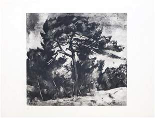 Paul Cezanne (after) - Le Grand Pin