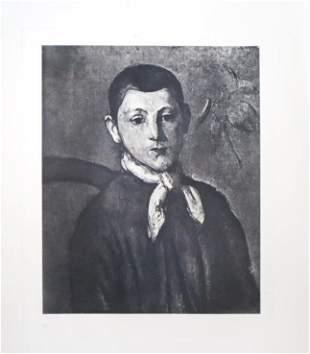 Paul Cezanne (after) - Portrait de M. G...