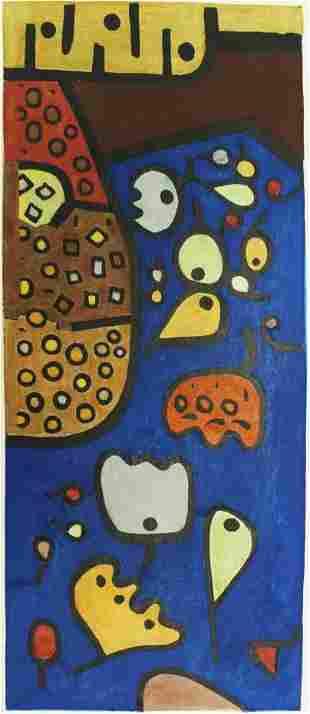 Paul Klee - Fruchte Auf Blau