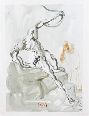 Salvador Dali - The Punishment of Vanni Fucci