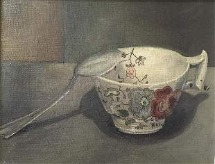Unknown Artist - Untitled Still Life (Oil Painting)