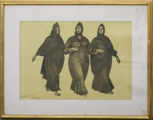 Francisco Zuniga - Impresiones de Egipto Plancha 3