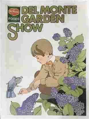 Del Monte Foods - Del Monte Garden Show Poster
