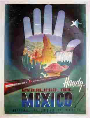 Vintage Poster - Handy Mexico (Vintage Poster)