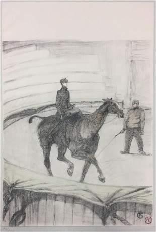 Henri Toulouse-Lautrec - Travail de Repetition (1908)