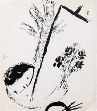 Marc Chagall - Le Bouquet a la Main