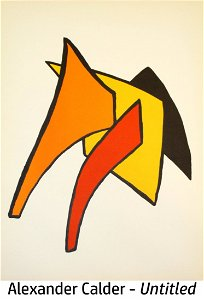 Alexander Calder - Untitled