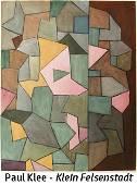 Paul Klee - Klein Felsenstadt