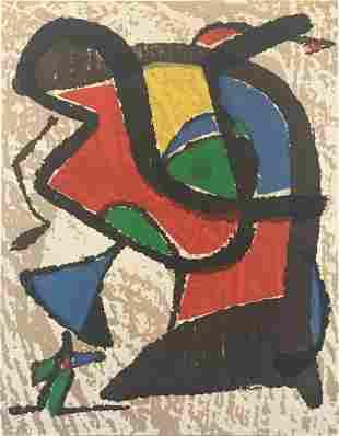 Joan Miro - Graveur II