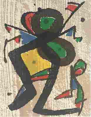 Joan Miro - Graveur III