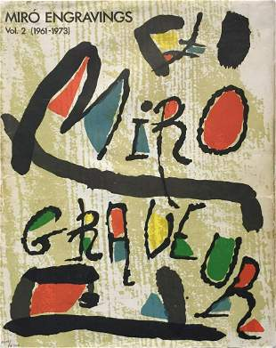 Joan Miro - Graveur Cover (Vol. 2)