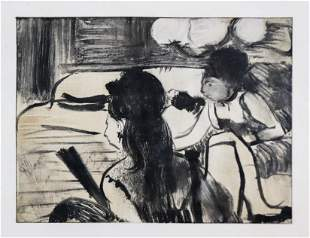Edgar Degas (After) - Women Seated
