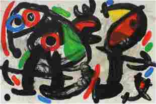 """Joan Miro - Untitled from """"Sculptures"""""""