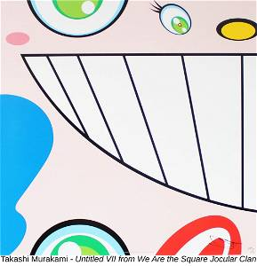 Takashi Murakami - Untitled VII from We Are the Square