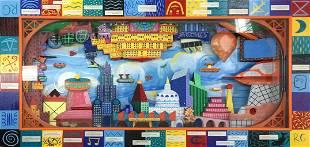 Rodney Alan Greenblat - Magnetocity Main Station
