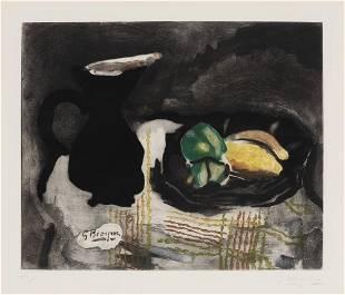 Georges Braque (After) - Pichet Noir et Citrons