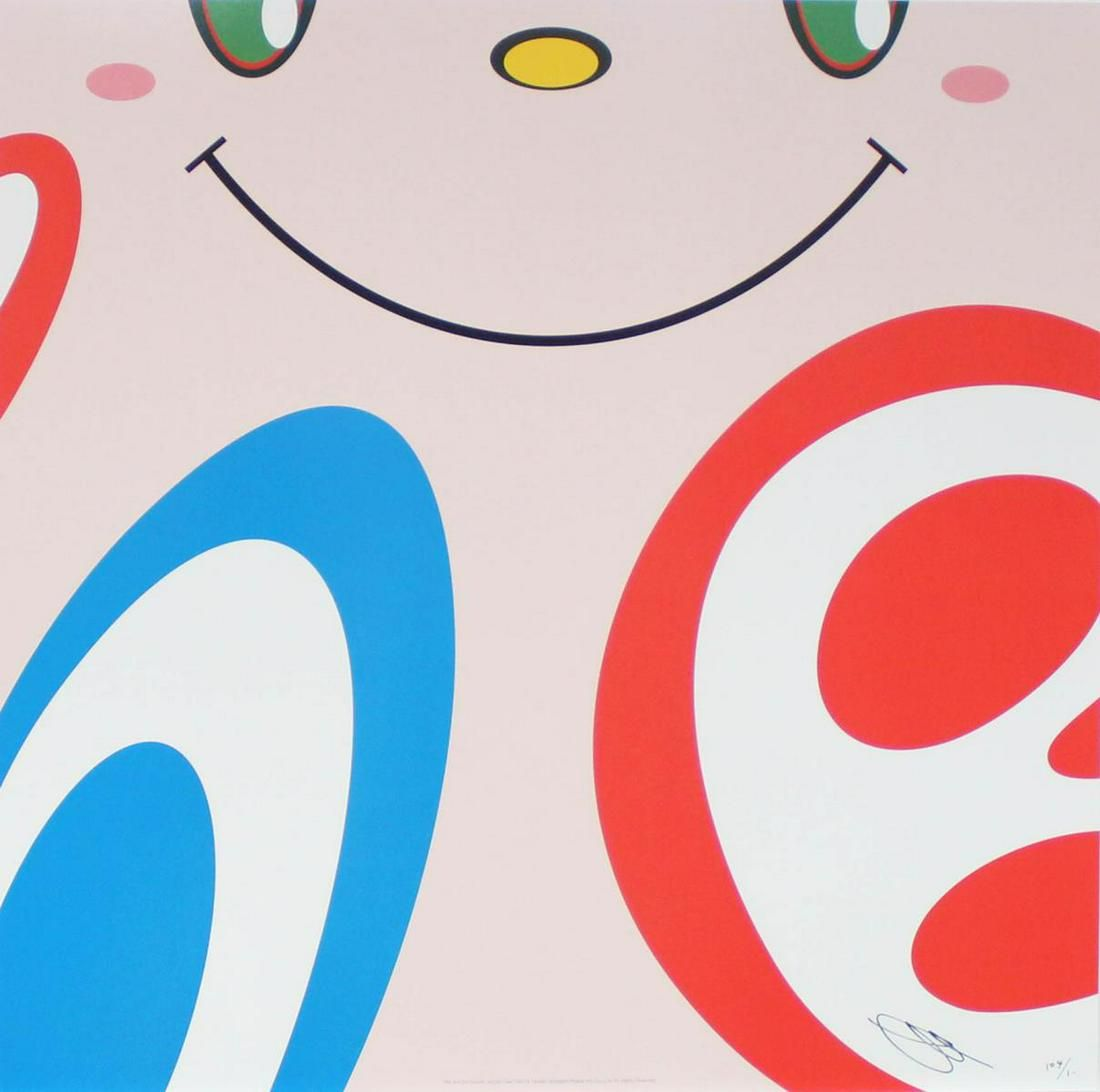 Takashi Murakami - Untitled V from We Are the Square
