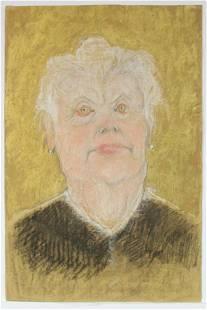 Georges Henri Manzana Pissarro - Untitled (Elderly