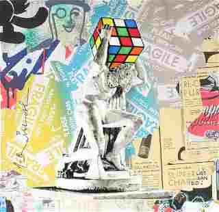 Mr. Brainwash - Rubik's Atlas
