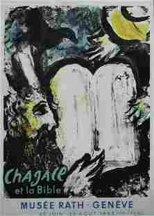 Marc Chagall - Chagall et la Bible Musee Rath Poster