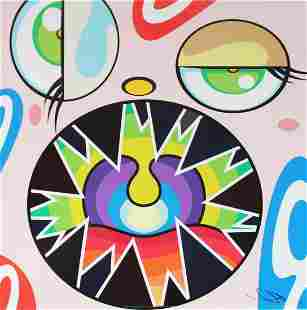 Takashi Murakami - Untitled VI from We Are the Square
