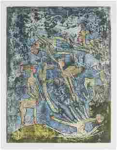 Robert Matta - Untitled (Assorted Centaurs)