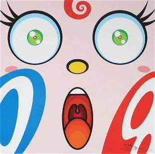 Takashi Murakami - Untitled VIII from We Are the Square