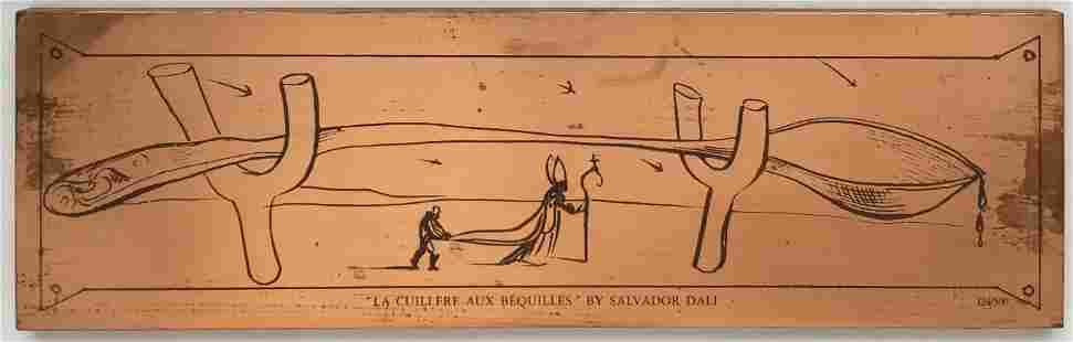Salvador Dali - La Cuillere aux Bequilles
