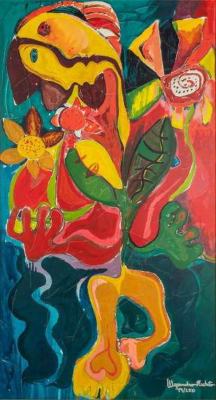 Alexandra Nechita - Sunflower Fields