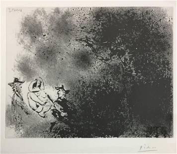 Pablo Picasso - Peintres aux Champs: un dejeuner sur