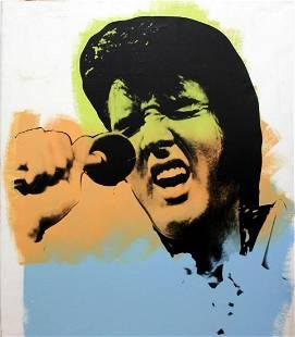 Steve Kaufman - Elvis Vegas