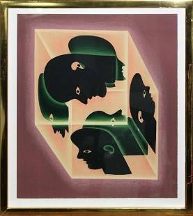 Victor Vasarely - Axonometric Study