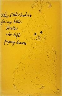 Andy Warhol - Dedication Page