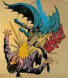 Mr. Brainwash - Bat-Wockk (Unique Hand Embellished)