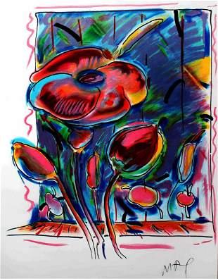 Peter Max - Garden Flowers