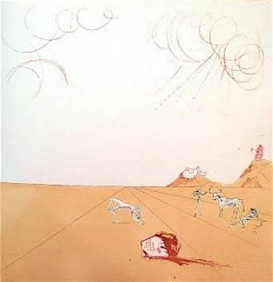 Salvador Dali - Paysage Iberique