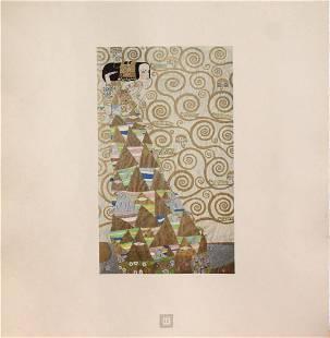 Gustav Klimt (After) - Aus dem Stoclet-Fries: Erwartung
