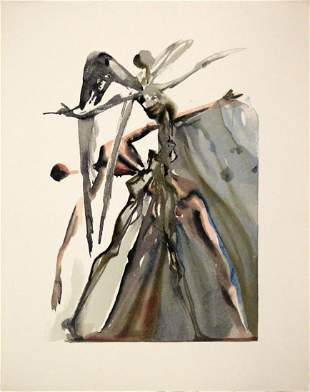 Salvador Dali - The Indolent Ones
