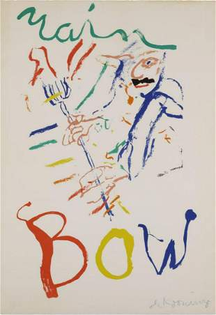 Willem De Kooning - Rainbow: Thelonious Monk Devil at