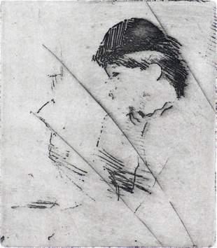 Edgar Degas - Buste de Femme (Final State)