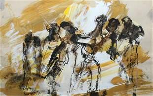Gino Hollander - Untitled (Abstract)